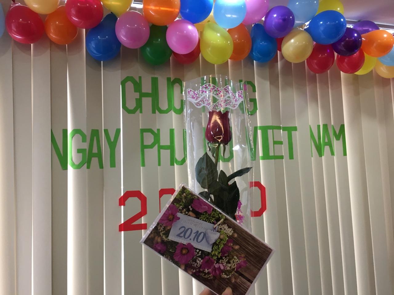 EMS CORP chúc mừng ngày phụ nữ Việt nam 20-10