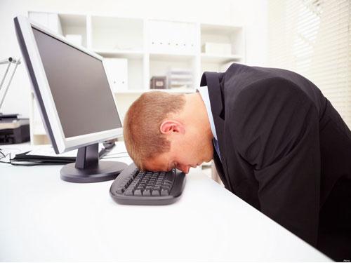 Nhân viên văn phòng thường xuyên bị stress