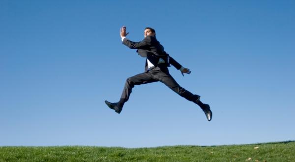 springender mann
