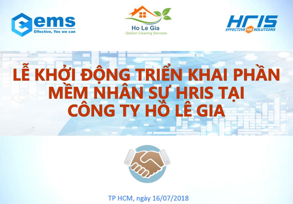 Hồ Lê Gia chọn triển khai phần mềm nhân sự HRIS trong hành trình phát triển