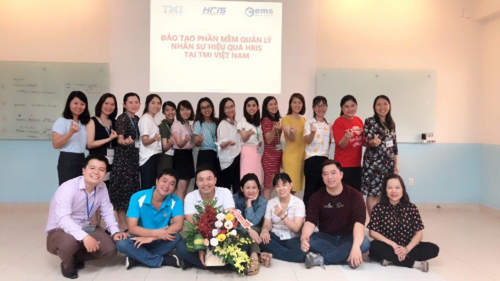 golive phần mềm nhân sự HRIS tại TMI Việt Nam