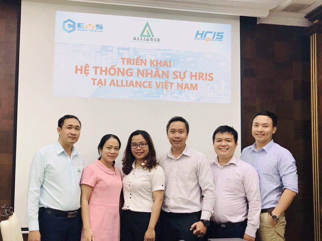 BDA Alliance và EMSC trong buổi Kick Off phần mềm nhân sự HRIS