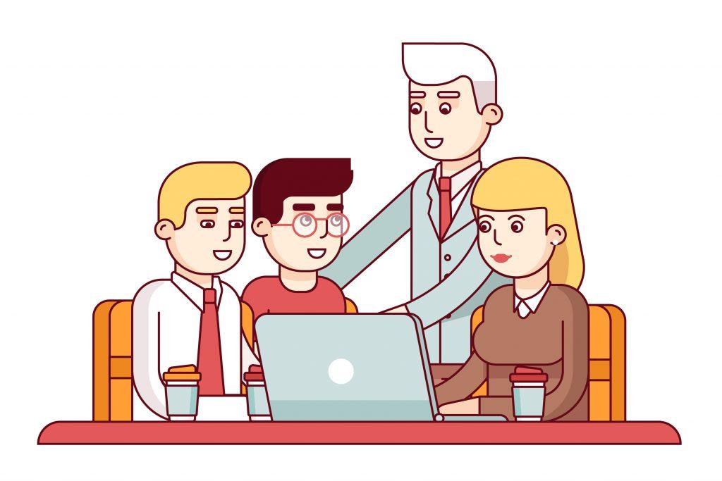 trân trọng kết quả làm việc nhóm của nhân viên