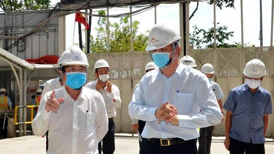 các doanh nghiệp xây dựng, bất động sản tăng cường công tác phòng chống dịch bệnh cho người lao động