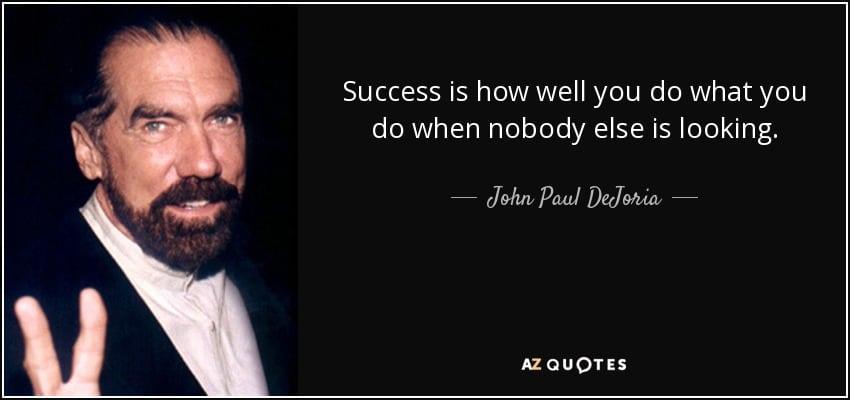 Thói quen của người thành công: 5 phút mỗi ngày của tỷ phú John Paul DeJoria