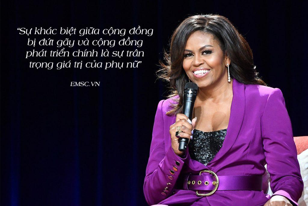 câu nói nổi tiếng của Michelle Obama