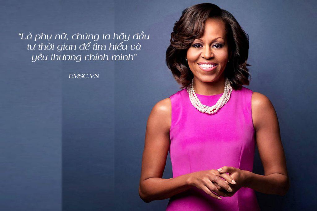10 câu nói nổi tiếng của Michelle Obama