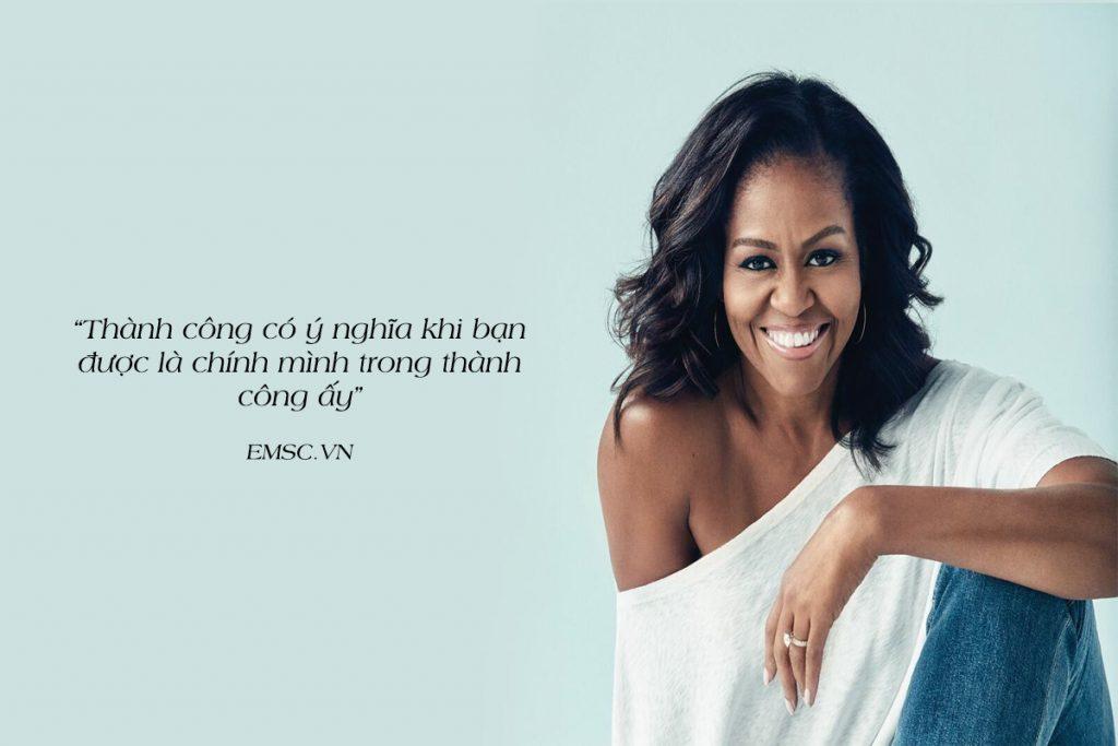 10 câu nói nổi tiếng của bà Michelle