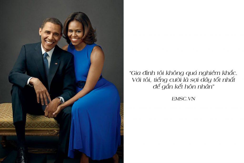 10 câu nói nổi tiếng của vợ Obama