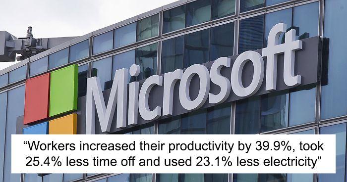 Microsoft chỉ cho nhân viên làm 4 ngày/tuần, năng suất tăng 40%