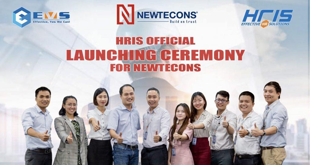 Kick-off phần mềm quản lý nhân sự HRIS với Newtecons