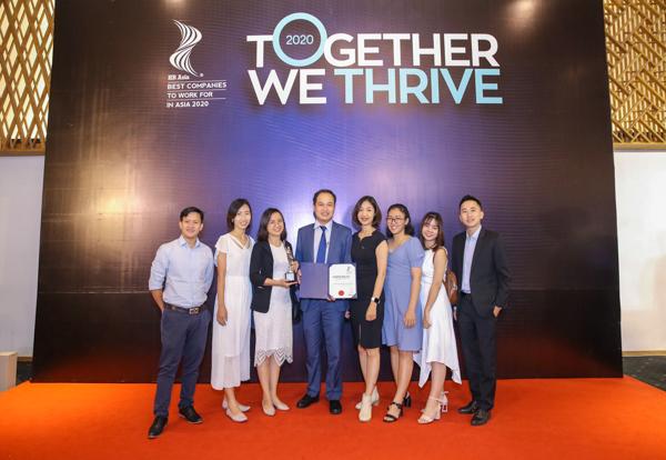 Đại diện Newtecons tham gia Lễ công bố giải thưởng HR-Asia Award năm 2020
