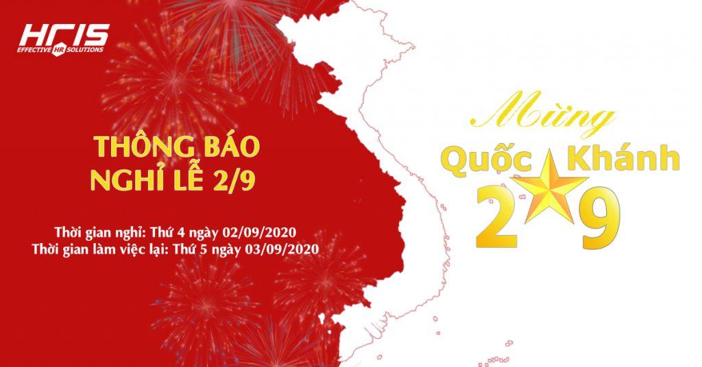 EMSC thông báo lịch nghỉ Quốc Khánh 2/9/2020