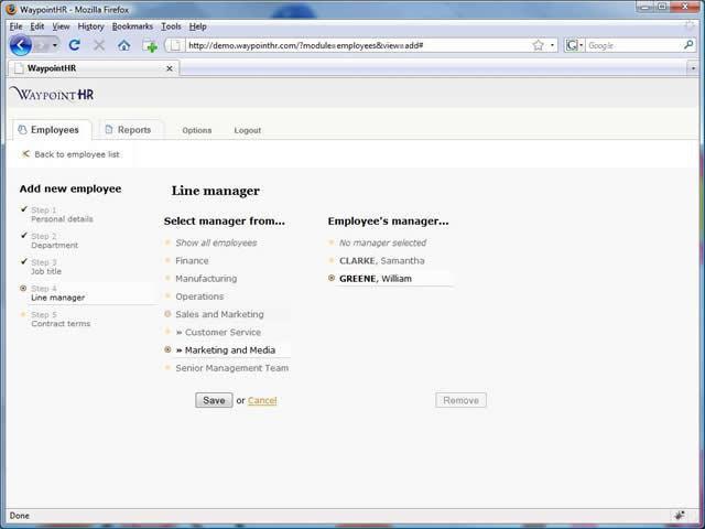 Phần mềm nhân sự miễn phí WaypointHR